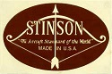 Stinson aircraft logo from the WAAAM Collection.