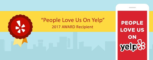Thanks for the Yelp award!